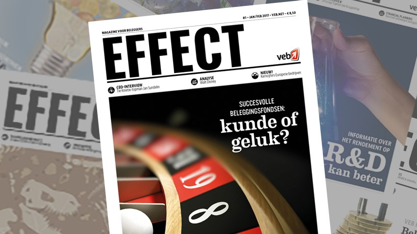 Effect 1: Succesvolle beleggingsfondsen: kunde of geluk?